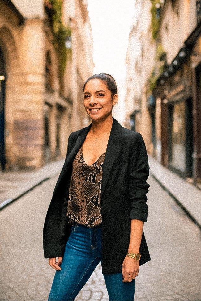Lauriane, fondatrice de la marque Auria Paris