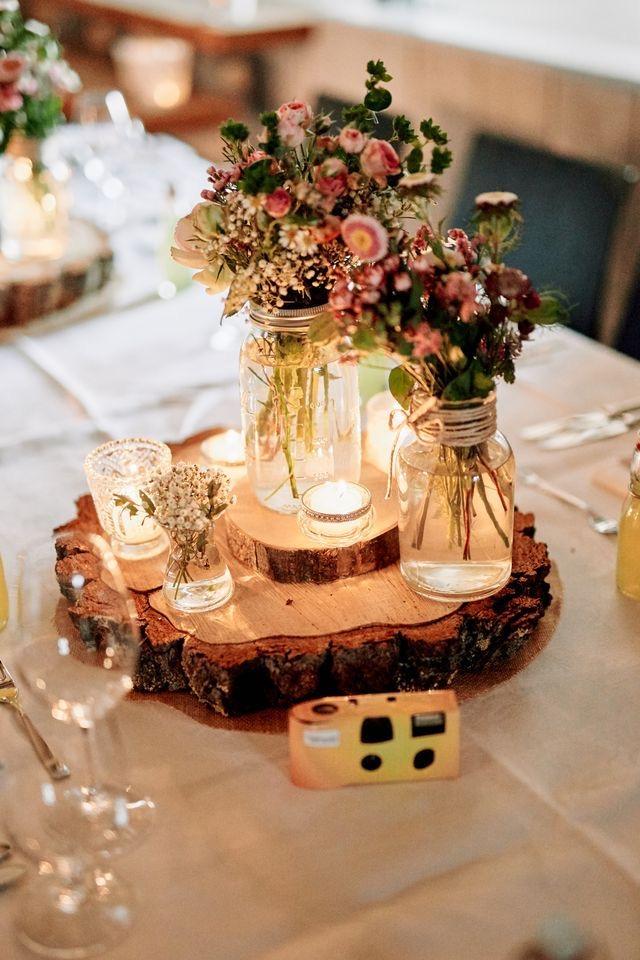Réussir un mariage éco-responsable: la décoration