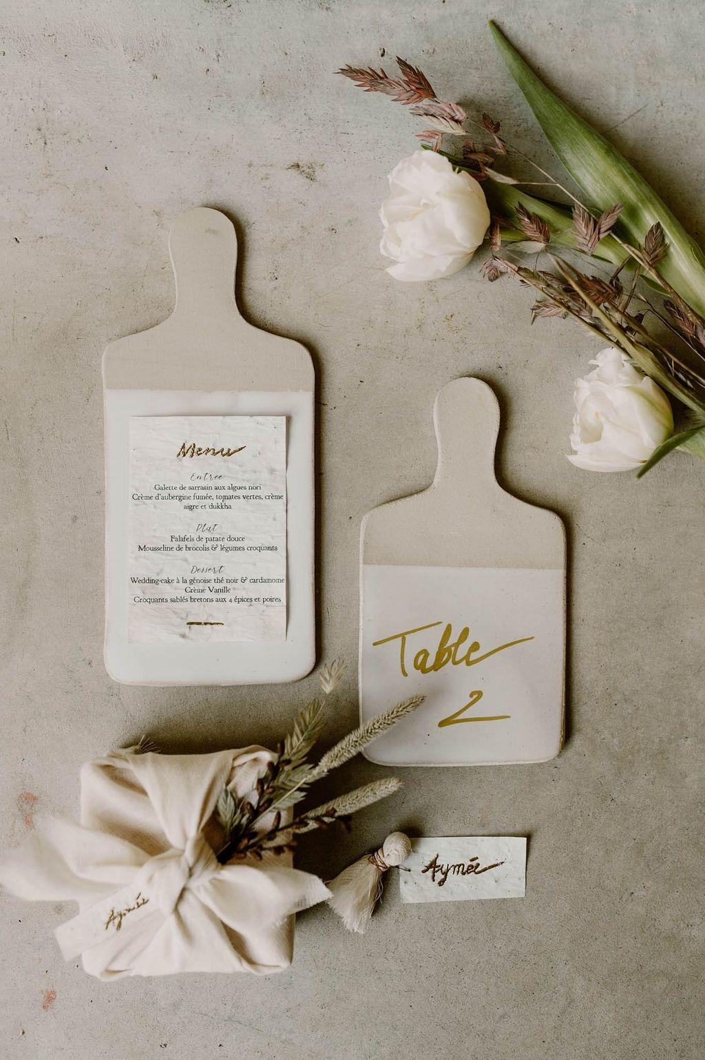 Réussir un mariage éco-responsable: le menu