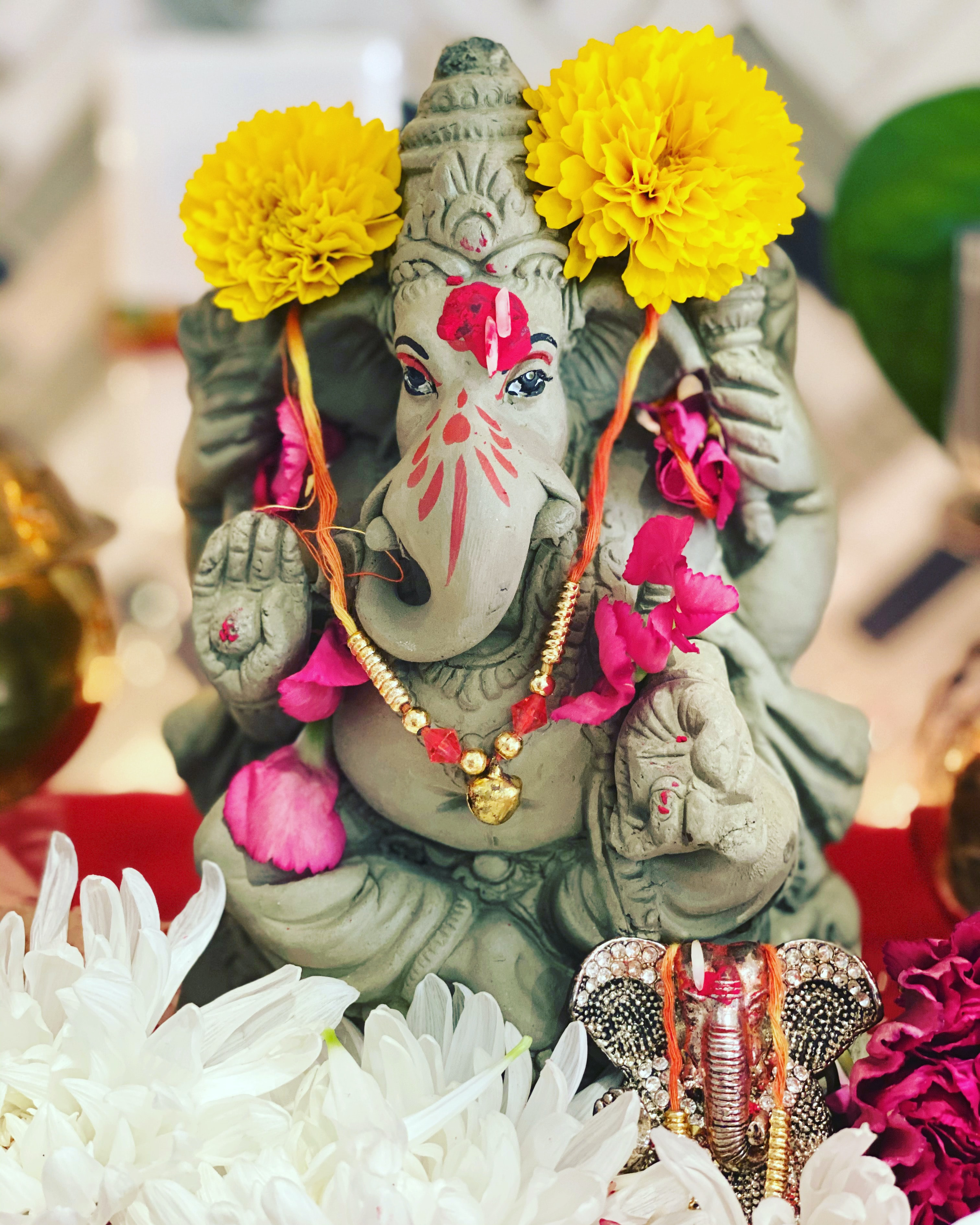 Ganesh, Dieu hindoue: sa représentation.